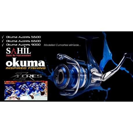 Okuma Azores Blue 5000-6500 Olta Makinesi