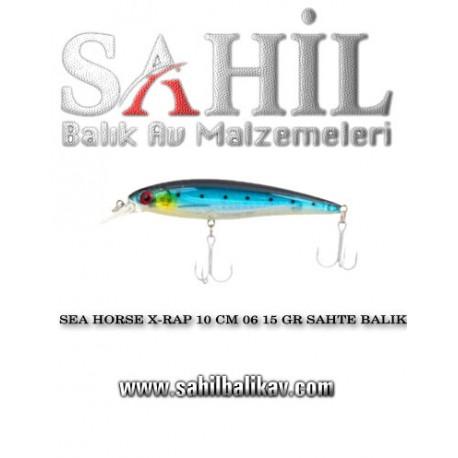 SEA HORSE X-RAP 10 CM 06 15 GR SAHTE BALIK
