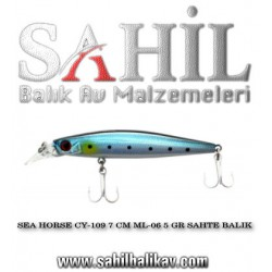 SEA HORSE CY-109 7 CM ML-06 5 GR SAHTE BALIK