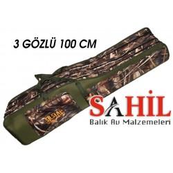 Kamış Çantası SILSTAR 3 Gözlü 100 CM