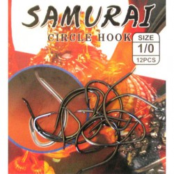 Samurai Circle Hook Serisi Olta ignesi papagAN
